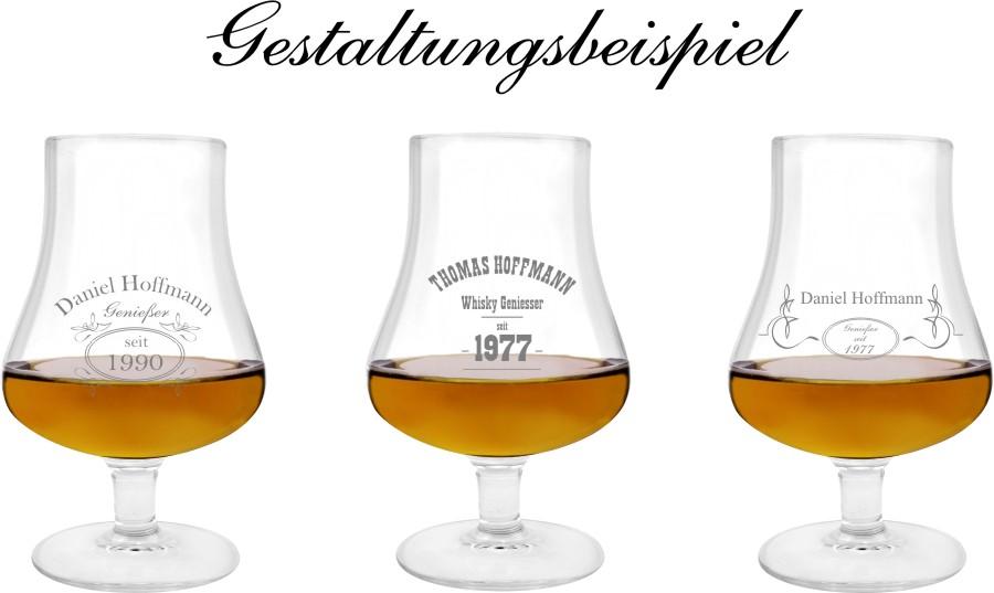 Wunschgravur Gravur-01 Ein Whiskey Tumbler Glas mit Whiskey Design inkl